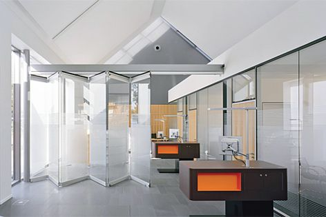 Interior swing and sliding doors, operable and bifolding wall systems, entry doors and bathrooms.