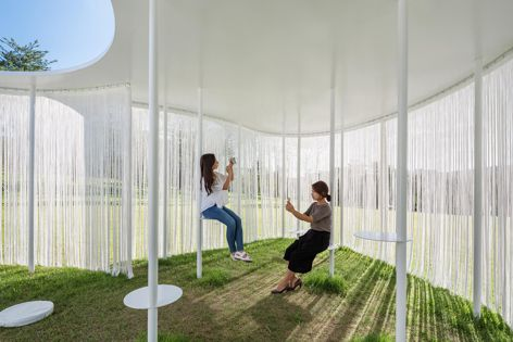 The Oasis by Office for Beyond Boundaries Architecture (OBBA). Sojung Lee and Sangjoon Kwak of OBBA will speak at the symposium. Photograph: Kyung Roh.