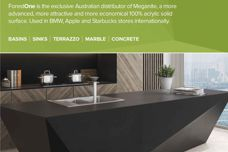 Meganite solid surfaces from ForestOne
