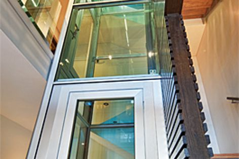 Glass shafts by Easy Living