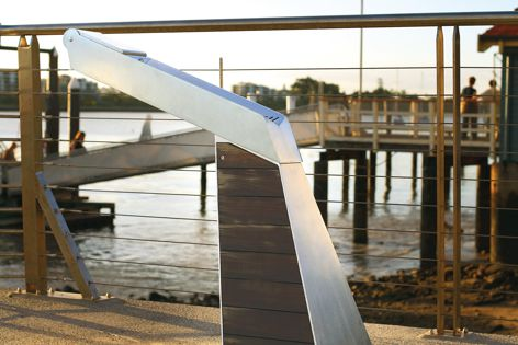 The Quench drinking fountain was developed to meet the aesthetic and functional needs of contemporary public spaces.