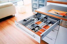Tandembox drawers and pull-outs with Orga-line fittings