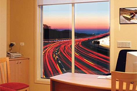 Effective acoustic management - Trend's SoundMizer range of windows and doors.