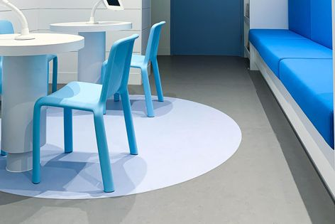 Orchestra acoustic flooring system