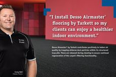 Desso Airmaster flooring by Tarkett
