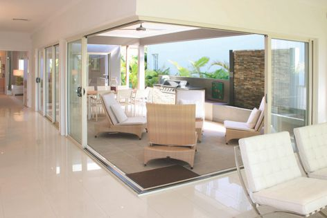 With Trend Windows, design stylish outdoor/indoor areas that suit the way your clients want to live.