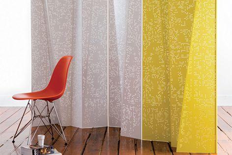 Freefold folding screen by Planex