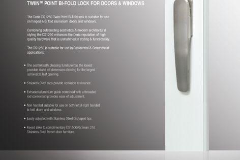 DS1250 Bi-Fold Lock by Doric