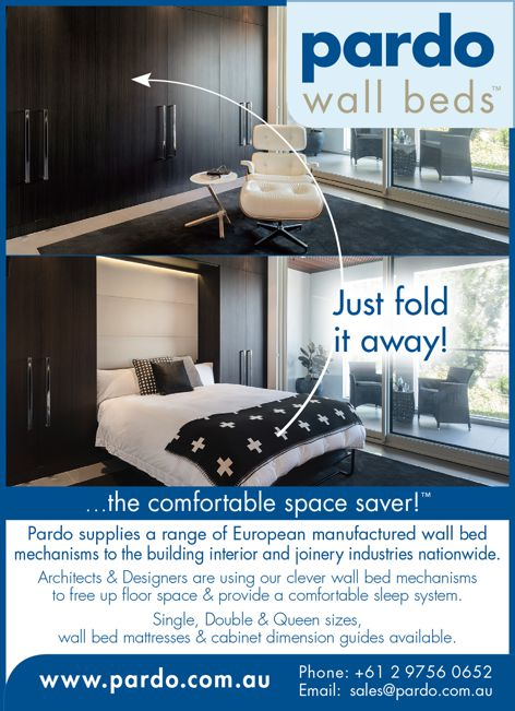 Wall beds by Pardo