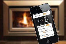 Gas fireplace app by Escea