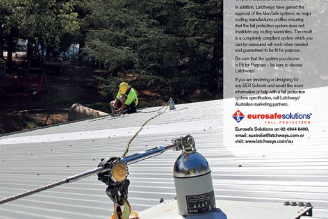 Latchways ManSafe fall protection