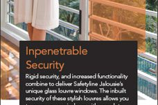 Secure windows by Safetyline Jalousie