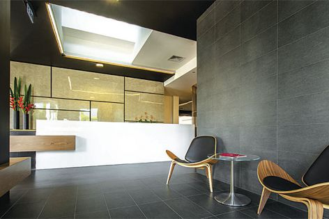 ARChitectural™ Inraw™ panels, from James Hardie®, were used at this Brisbane warehouse conversion.
