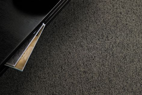Accents carpet comes in 11 colours and is resilient against spills and foot traffic.