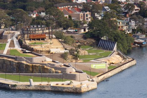 Ballast Point Park in Sydney was transformed by Landscape Solutions.