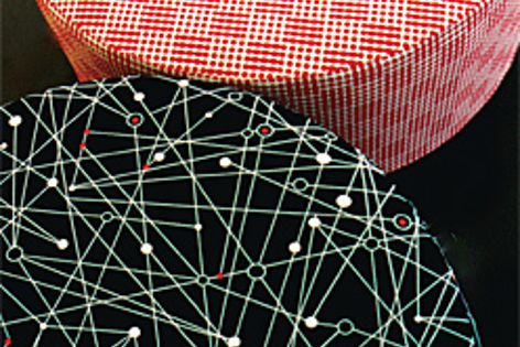 Molecular and Blink fabrics from Ilias by Instyle.