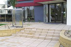Riverstone pavers