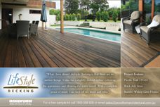 Woodform's Lifestyle decking