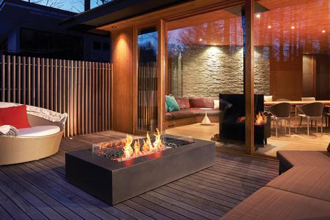 EcoSmart Fire has a versatile collection of fireplace solutions.