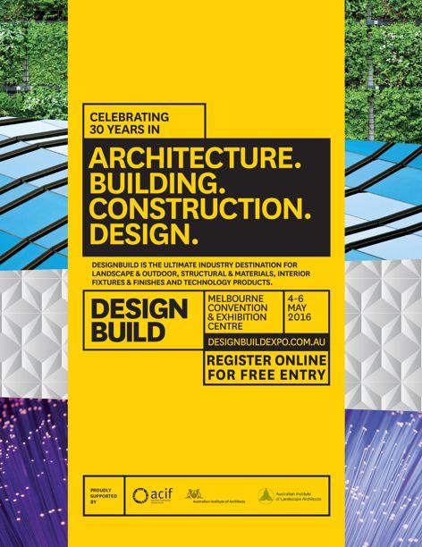 2016 DesignBuild exhibition