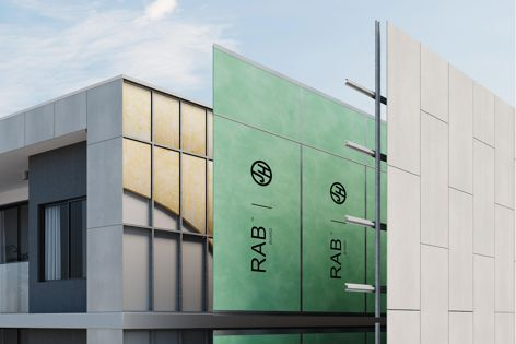 RAB Board by James Hardie is a rigid air barrier installed beneath external cladding or ventilated facades.