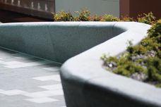 Custom granite and bluestone street furniture