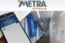 Mobile app for lockers by Metra Australia