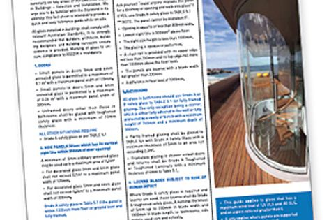The Glass in Buildings brochure.