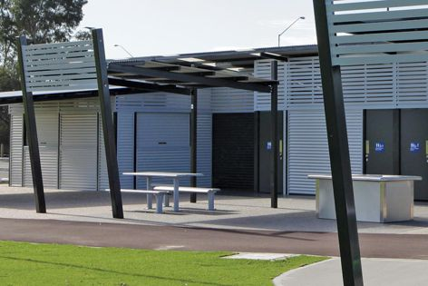 A new range of pre-engineered kit-form sport and recreation facilities is available from Landmark Products.
