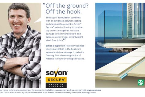 Scyon Secura flooring by James Hardie