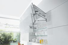 Servo-Drive lift system for cupboards