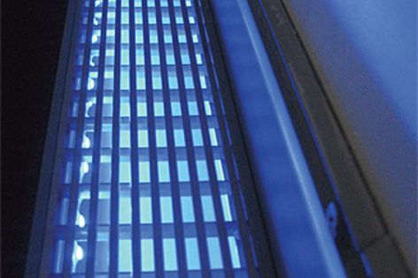 Stormtech's new LED strip adds a stylish finish to the existing range of grates.
