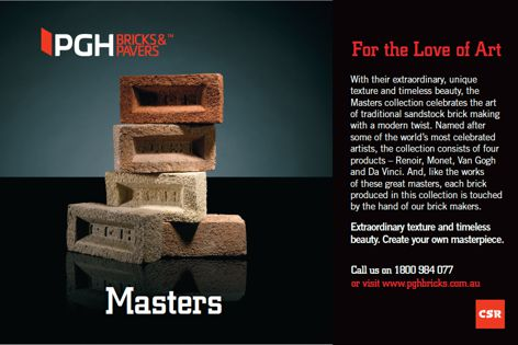 Masters collection by PGH Bricks