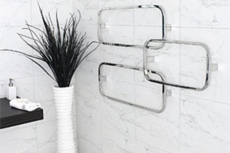 The Corto towel rail.