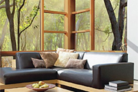 Stegbar's cedar windows and doors offer peace of mind against bushfires.