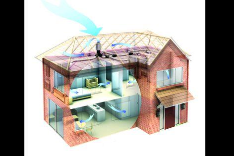 Ventilation systems by Ventis