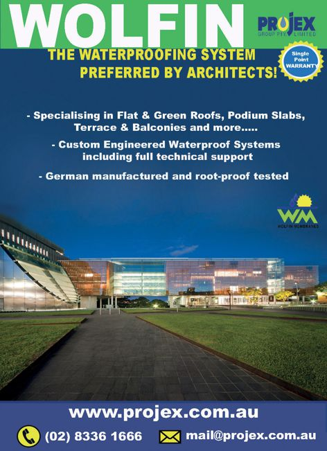 Wolfin waterproofing by Projex Group