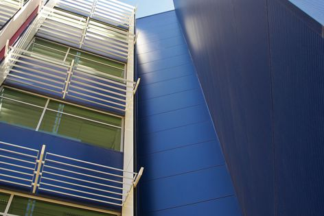 Kingspan cladding panels were specified for Majura Park.