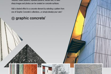 Graphic concrete by Reid