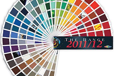The Range 2011/12 fandeck by Resene