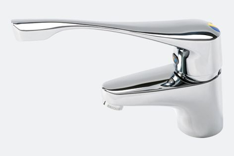 With its ergonomic design, the Extended Lever basin mixer is ideal for disabled and elderly users.