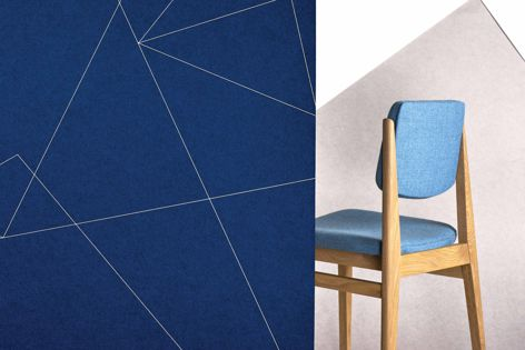 Instyle has introduced two new print designs, Axis and Opus, to its Ecoustic collection of intelligent acoustic panels.