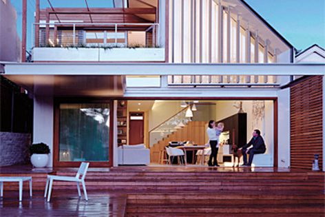 Waverley House by Anderson Architecture, shortlisted in the Sustainability category.