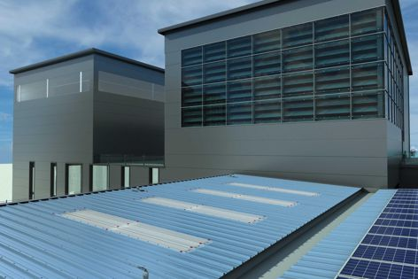 Insulated panel roofing solution by Kingspan
