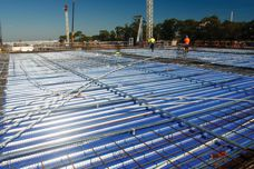 KingFlor steel formwork by Fielders