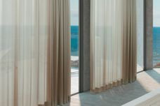Luna curtain track by Vertilux