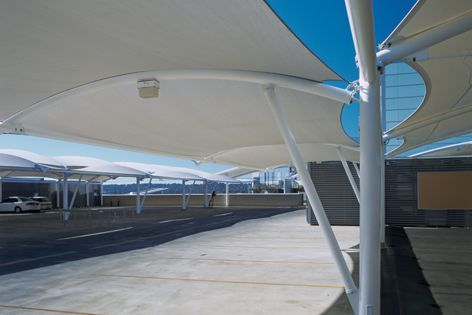 MakMax designs and manufactures a range of shelters for car parks.