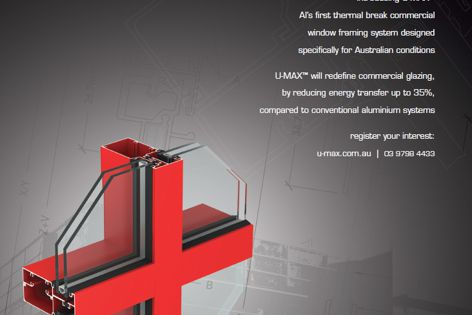U-Max commercial glazing