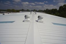 Kingspan insulated roofing panels