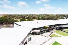 MetecnoSpan roofing at St Kilda FC training facility
